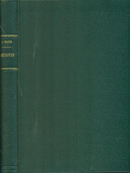 Beethoven - Antonio Bruers - copertina