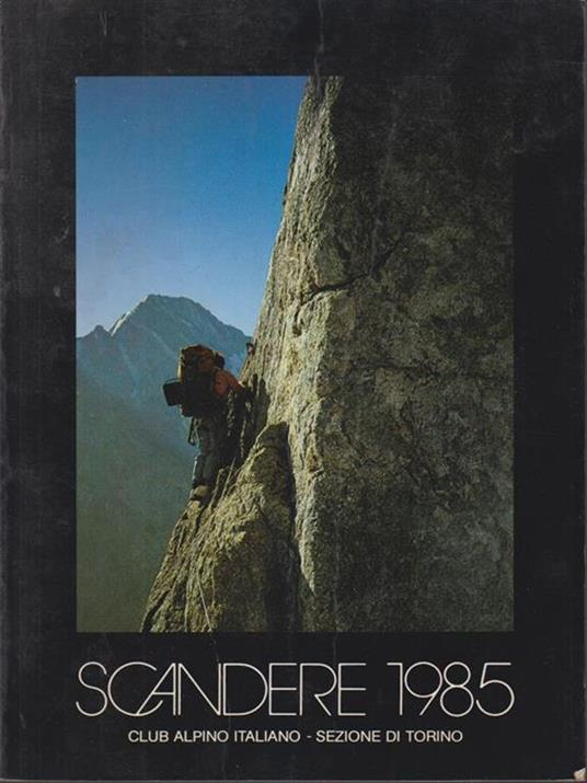 Scandere 1985 - copertina