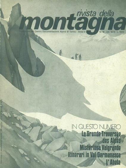 Rivista della montagna n. 15-17-18/1974 -   - copertina
