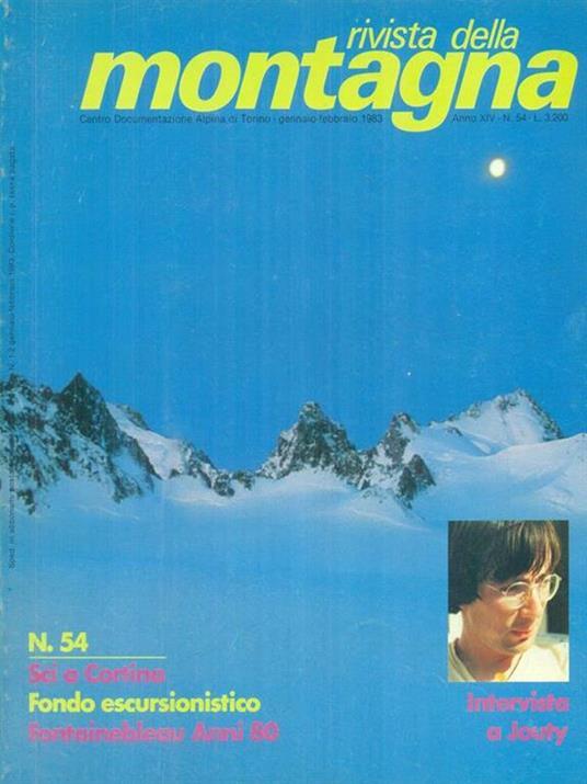 Rivista della montagna annata 1983 -   - copertina