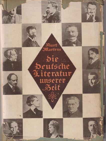 Die deutsche literatur unserer zeit - copertina