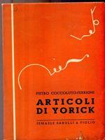 Articoli di yorick
