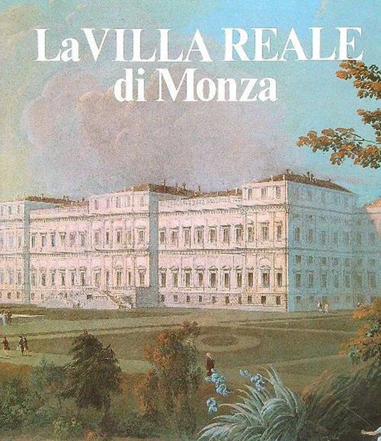 La villa reale di Monza - copertina