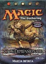 WOTC Magic Caos Dimensionale mazzo tematico Marcia Infinita (IT)