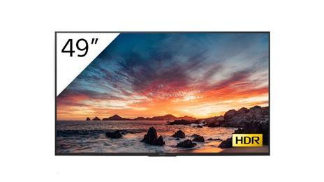 """Sony FWD-49X80H/T visualizzatore di messaggi Pannello piatto per segnaletica digitale 123,2 cm (48.5"""") LED, IPS 4K Ultra HD Nero Processore integrato Android 9.0"""