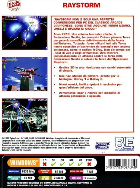 Raystorm - Fairgame - 2