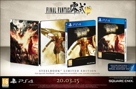 Final Fantasy Type-0 HD Limited Edition - 2