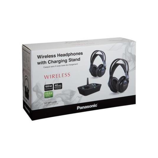 Panasonic RP-WF830WE-K cuffia e auricolare Cuffie Padiglione auricolare Nero