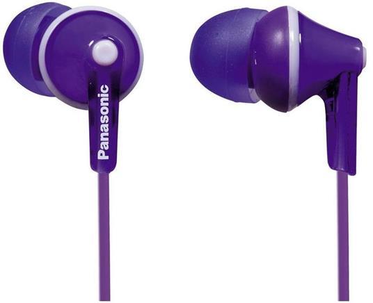 Panasonic RP-HJE125 Cuffie Auricolare Viola