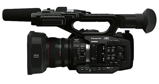 Panasonic AG-UX180 9,46 MP MOS Videocamera da spalla Nero 4K Ultra HD - 2