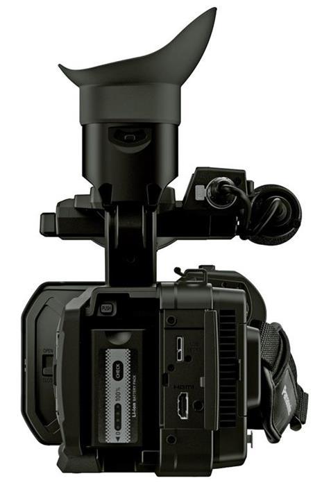 Panasonic AG-UX180 9,46 MP MOS Videocamera da spalla Nero 4K Ultra HD - 3