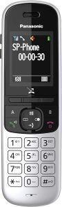 Panasonic KX-TGH710 Telefono DECT Nero, Argento Identificatore di chiamata - 2