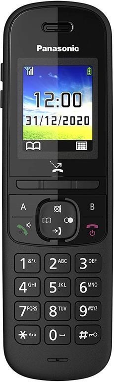 Panasonic KX-TGH710 Telefono DECT Nero Identificatore di chiamata