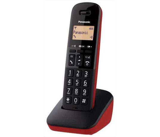 Panasonic KX-TGB610JTR telefono Telefono analogico/DECT Nero, Rosso Identificatore di chiamata - 2