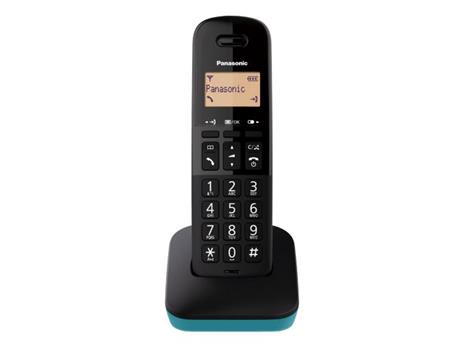 Panasonic KX-TGB610JT Telefono analogico/DECT Nero, Blu Identificatore di chiamata
