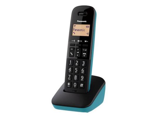 Panasonic KX-TGB610JT Telefono analogico/DECT Nero, Blu Identificatore di chiamata - 2