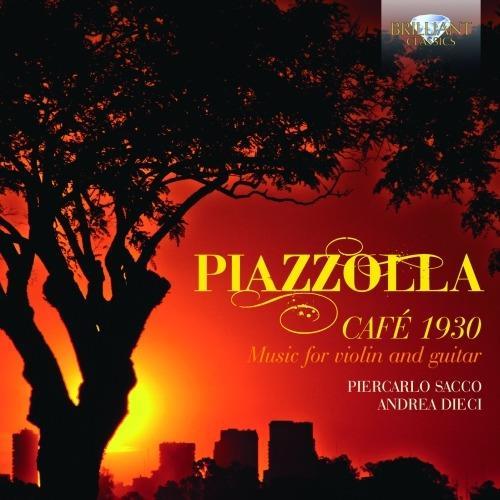 Café 1930. Opere per violino e chitarra - CD Audio di Astor Piazzolla
