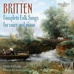 Complete Folk Songs for Voice and Piano