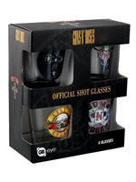 Set Bicchieri Guns N' Roses. Mix