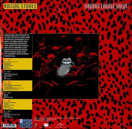 Voodoo Lounge Uncut - Vinile LP di Rolling Stones - 2
