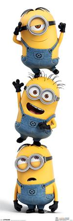 Poster Slim 30X91,5 Cm Despicable Me. Stacked