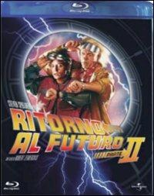 Ritorno al futuro. Parte II di Robert Zemeckis - Blu-ray