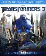 Transformers 3 3D (DVD + Blu-ray + Blu-ray 3D)