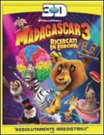 Madagascar 3. Ricercati in Europa 3D