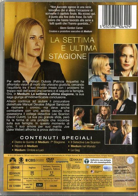 Medium. Stagione 7 (Serie TV ita) (4 DVD) di Aaron Lipstadt,Larry Teng,Colin Bucksey,Peter Werner - DVD - 2