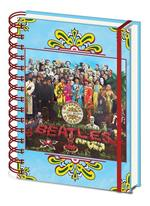 Quaderno Beatles. Sgt. Pepper's Lonely Hearts A5 Wiro Notebook