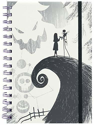Quaderno Nightmare Before Christmas Spiral Hill A5 Wiro Notebook Cdu 10