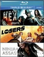 Azione. Jonah Hex. The Losers. Ninja Assassin (3 Blu-ray)