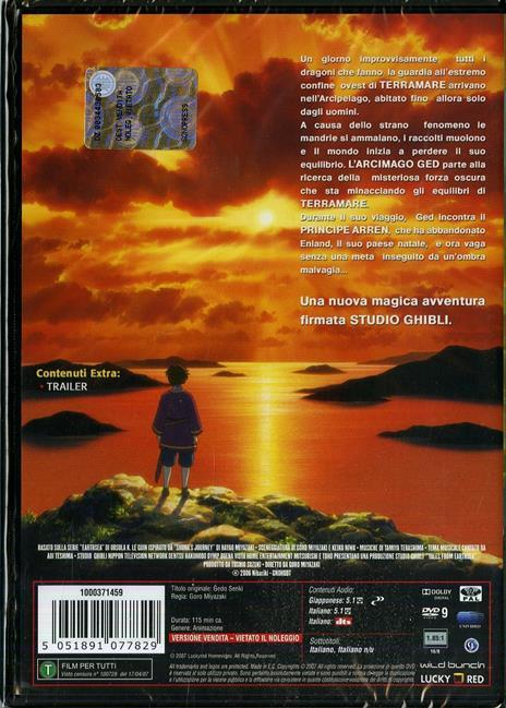 I racconti di Terramare di Goro Miyazaki - DVD - 2