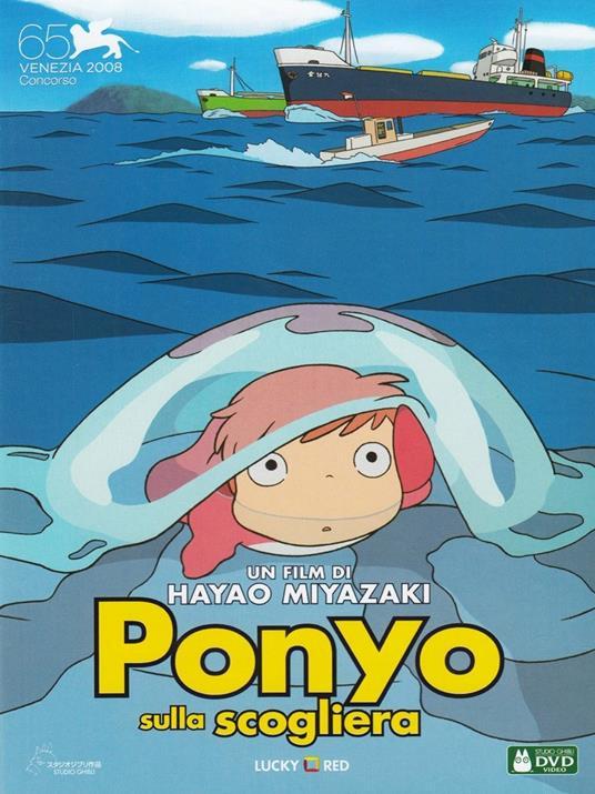 Ponyo sulla scogliera di Hayao Miyazaki - DVD