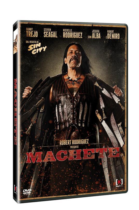 Machete di Ethan Maniquis,Robert Rodriguez - DVD