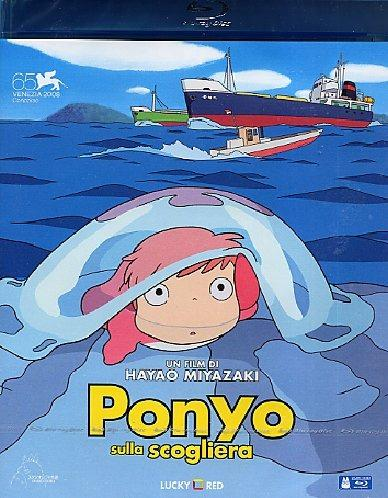 Ponyo sulla scogliera di Hayao Miyazaki - Blu-ray