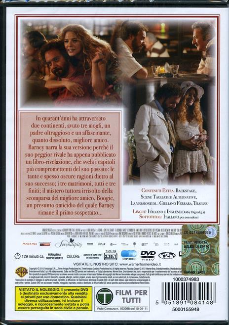 La versione di Barney di Richard J. Lewis - DVD - 2