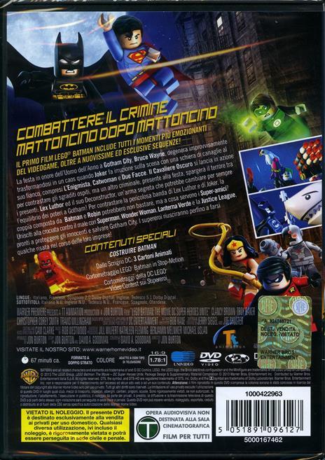 Lego. Batman. The Movie di Jon Burton - DVD - 8