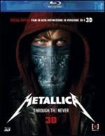 Metallica. Through the Never 3D (Blu-ray + Blu-ray 3D)