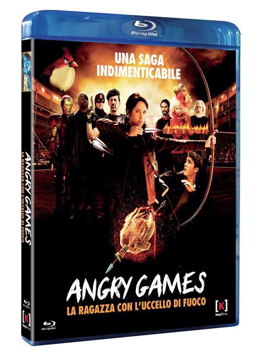 Angry Games. La ragazza con l'uccello di fuoco di Jason Friedberg,Aaron Seltzer - Blu-ray