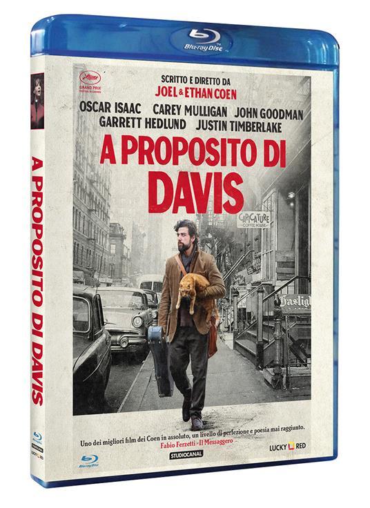 A proposito di Davis di Ethan Coen,Joel Coen - Blu-ray