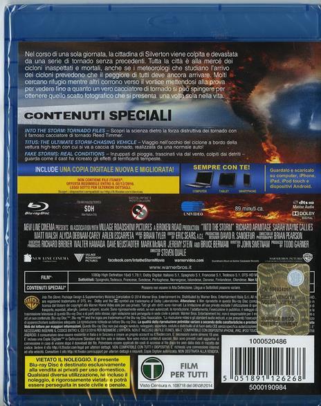 Into the Storm di Steven Quale - Blu-ray - 2
