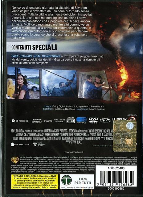Into the Storm di Steven Quale - DVD - 2