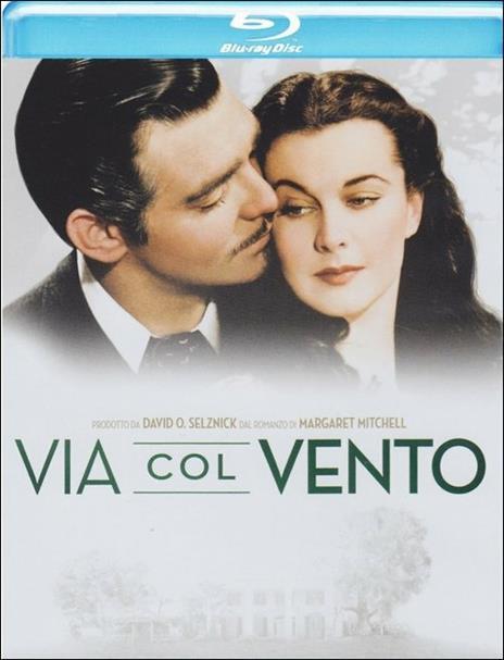 Via col vento di Victor Fleming - Blu-ray