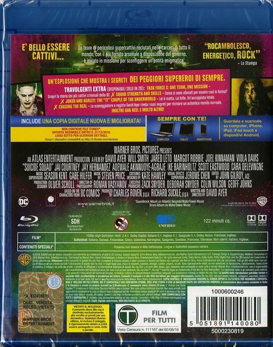 Suicide Squad (Blu-ray) di David Ayer - Blu-ray - 6