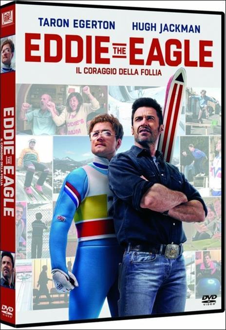 Eddie the Eagle. Il coraggio della follia di Dexter Fletcher - DVD