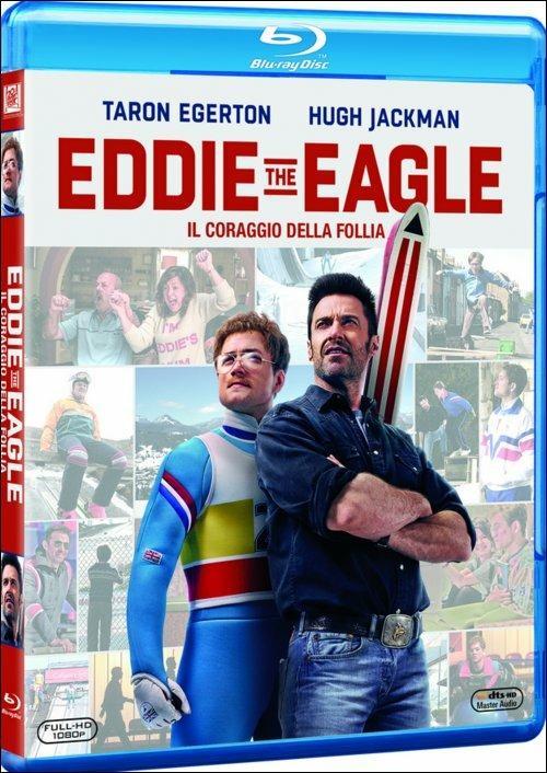Eddie the Eagle. Il coraggio della follia di Dexter Fletcher - Blu-ray