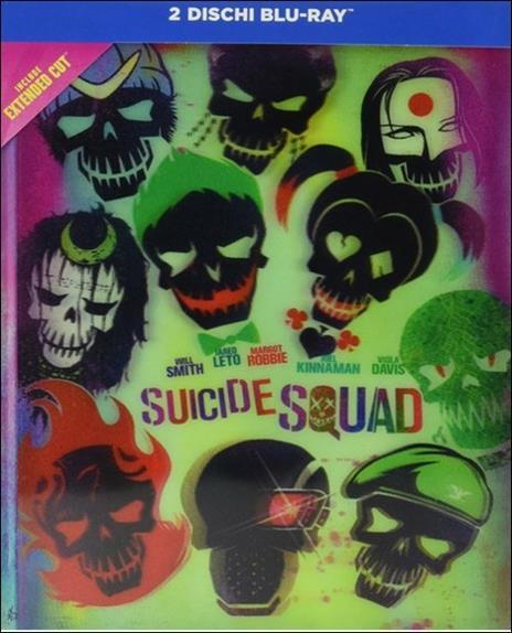 Suicide Squad. Collectors Edition (2 Blu-ray) di David Ayer - Blu-ray