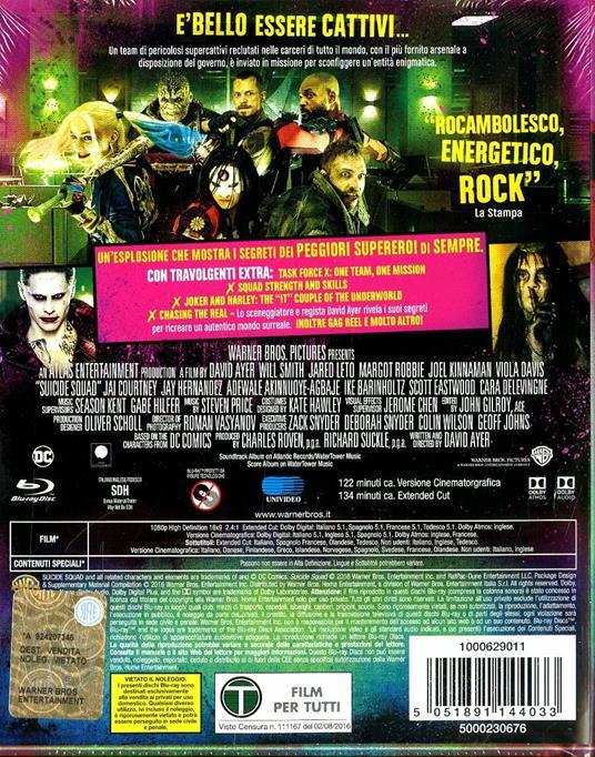 Suicide Squad. Collectors Edition (2 Blu-ray) di David Ayer - Blu-ray - 8
