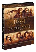 Lo Hobbit + Il Signore degli Anelli. Le trilogie (6 DVD)